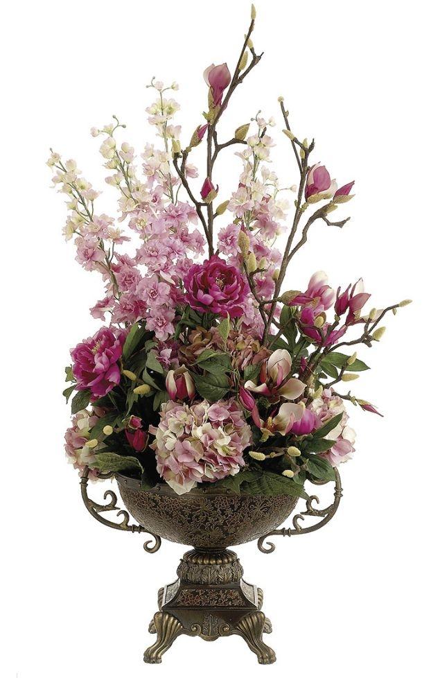 Extra Large Artificial  Flower Basket Stunning arrangement