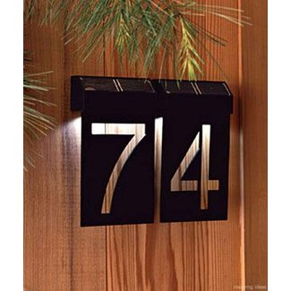 Light Up House Numbers Ideas On Foter