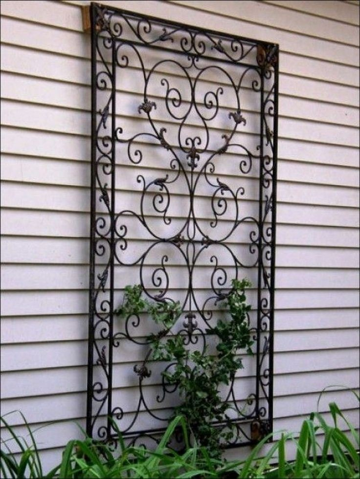 Outdoor Wall Decor Diy