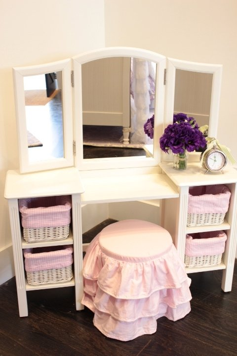 Vanity chairs and stools & Little Girl Vanity Table - Foter