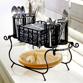 Dinner al fresco 2 piece delaware buffet caddy set