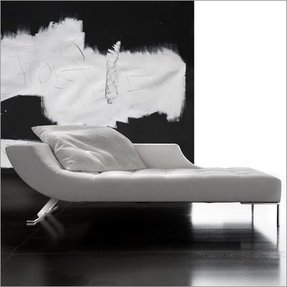 Contemporary chaise lounge chair