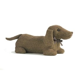 Sausage Dog Fabric Novelty Dachshund Door Draught Excluder
