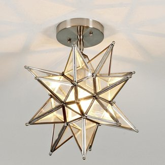 Star ceiling light fixture foter moravian star ceiling light 1 aloadofball Image collections