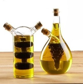 Olive oil and vinegar cruet 2