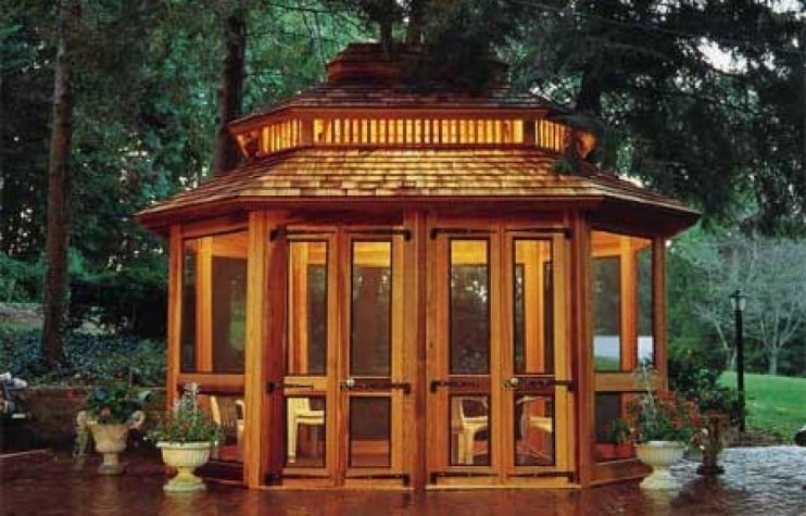 Screened Patio Gazebos