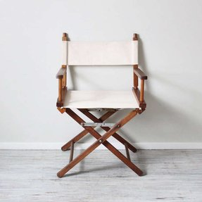 White directors chairs