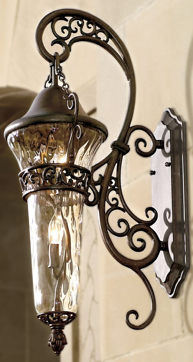 Lantern Style Indoor Wall Sconces