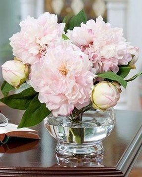 Silk peonies arrangement foter artificial flower table decorations silk flower centerpieces peonies mightylinksfo