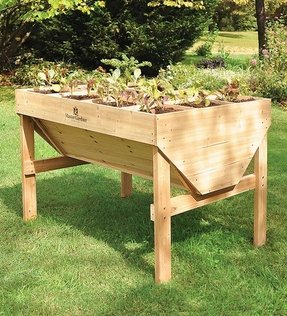Cedar outdoor table