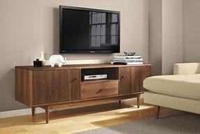 Modern built in tv cabinet