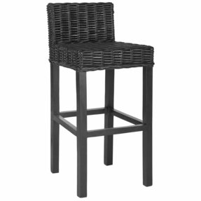 Safavieh Home Collection Cypress Barstool, Black