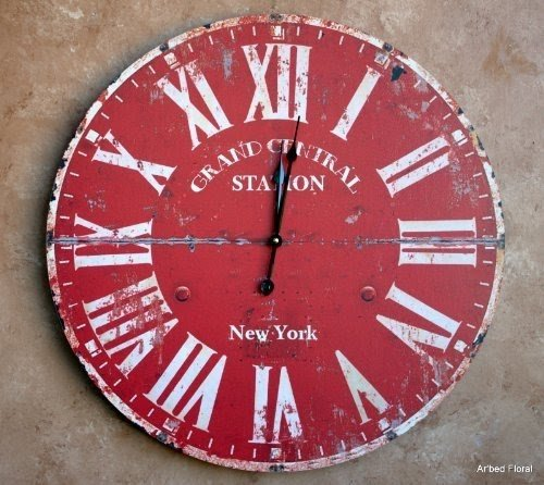 Red Wall Clock - Foter
