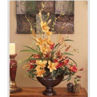 Artificial flower arrangements for home foter spring silk flower arrangement ideas mightylinksfo