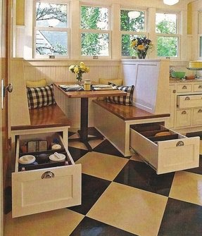 Breakfast nook benches