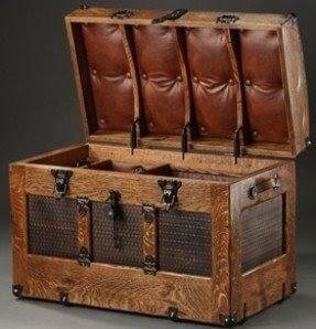 Gentil Faux Leather Storage Chest