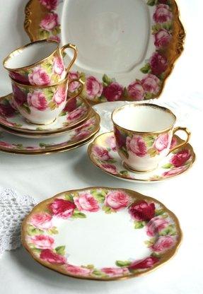 Floral Dinnerware Sets Ideas On Foter
