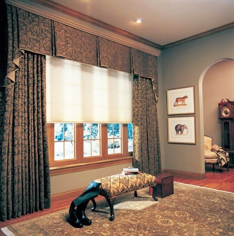 Wide Window Valance