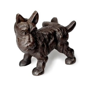 Abbott Cast Iron Scottie Dog Door Stopper