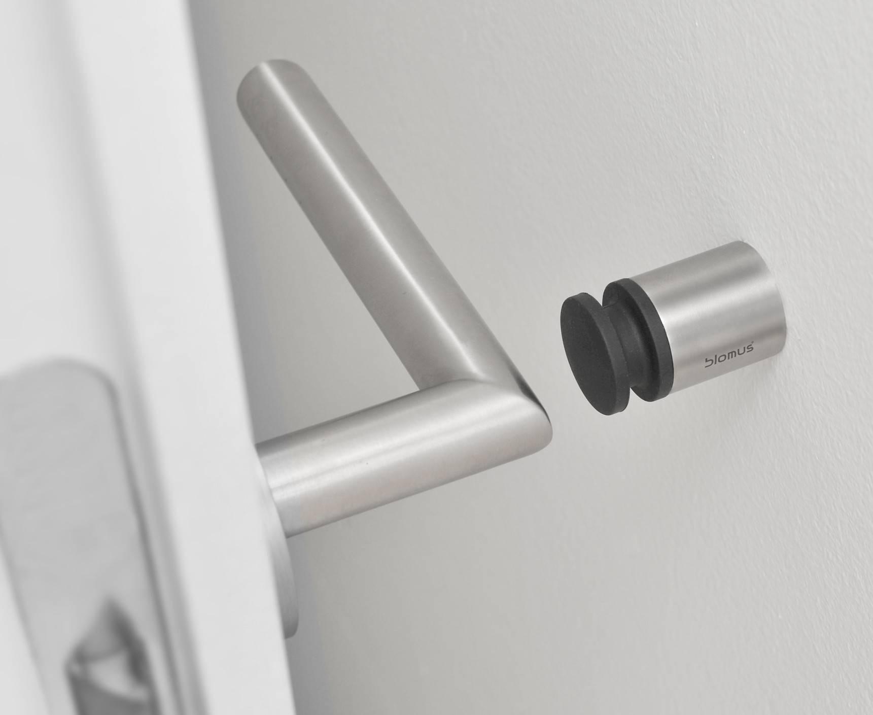 Blomus Entra Door Stop 65353 Size 0.98\  H x 0.98\  ... & Modern Door Stops - Foter