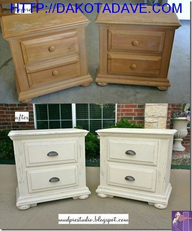 Superieur Distressed White Furniture