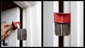 Door hinge stopper