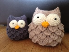 How to make an owl doorstop