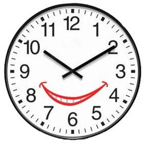 Infinity Itc Oversized 12 Hour Clock 19 Diameter Black