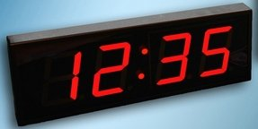 Large Digital LED Wall Clock with Count Up/Down Timer