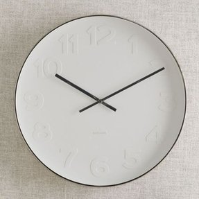 Mr white wall clock 3