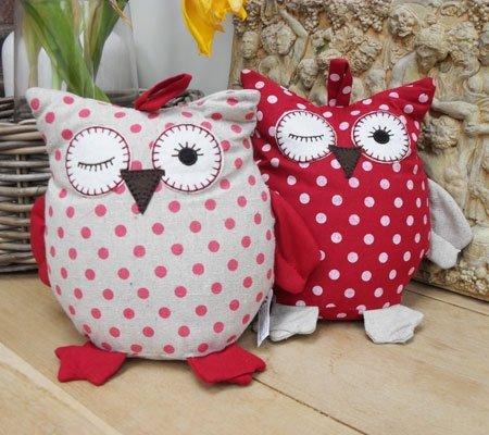 Owl Doorstop 48