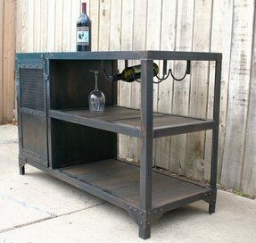 Scrap metal and reclaimed industrial