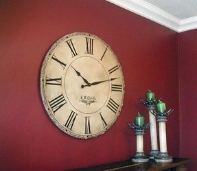 36 wall clock large pewter wall 36 in grand gallery extra large wall best big round wall clocks ideas on foter