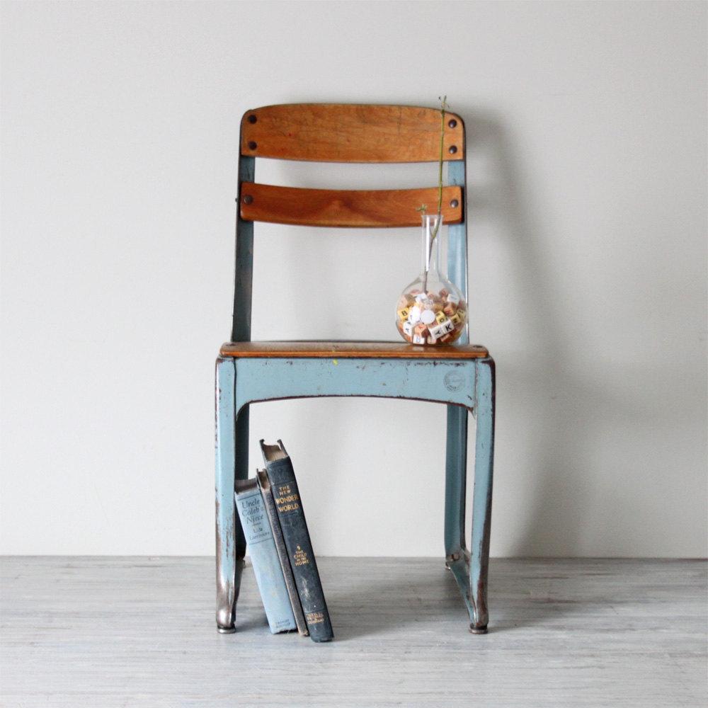 Delightful Antique School Chair