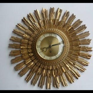 Art Deco Wall Clock 1