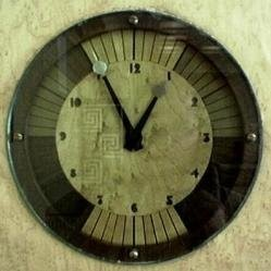 Art Deco Wall Clock 10