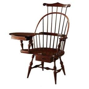 Black Windsor Arm Chair