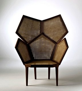 Cane armchairs 2