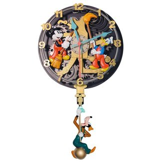 Clock mickey mouse