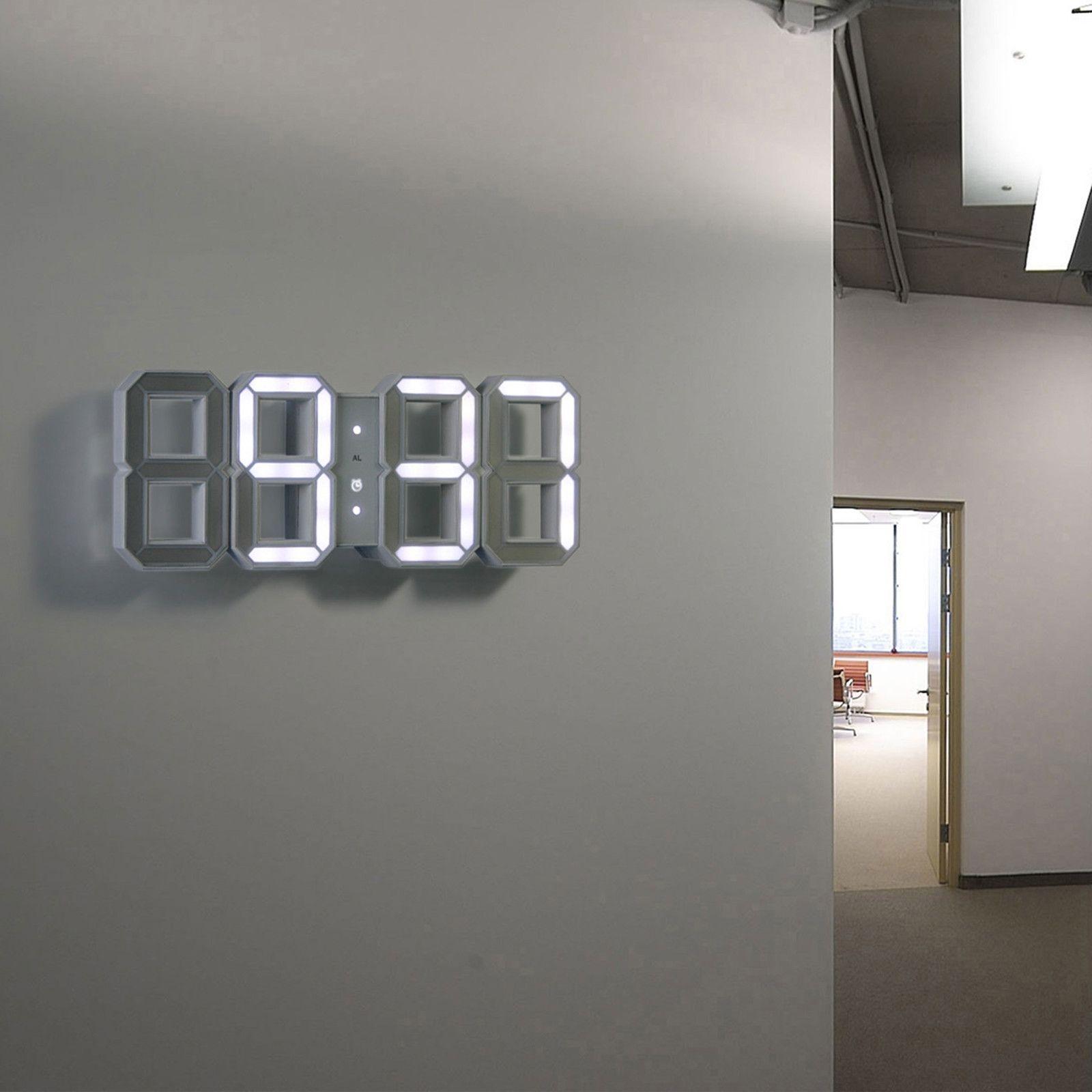 Led Wall Clock Foter