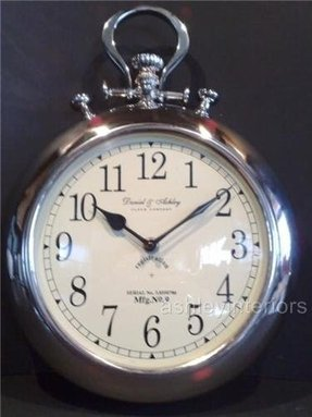 Fob watch wall clock 2
