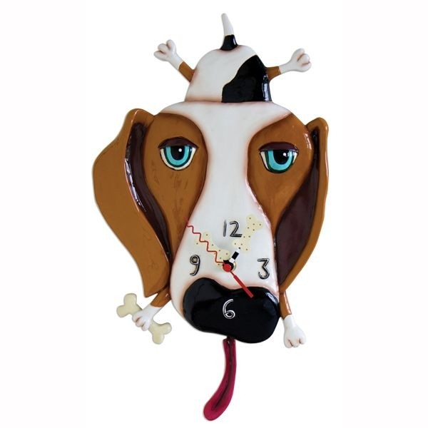 Funky Dog Wall Clocks 4