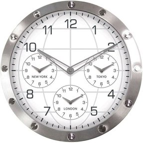 Time Zone Wall Clocks Ideas On Foter