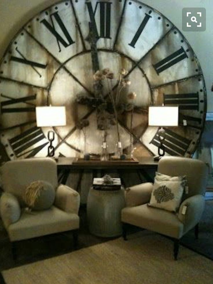 Giant Wall Clock Foter