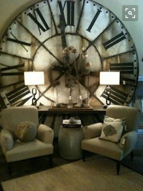 Giant wall clock 15