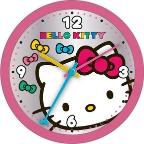 Hello Kitty 11.9 inch Round Wall Clock (Colors/Styles Vary)