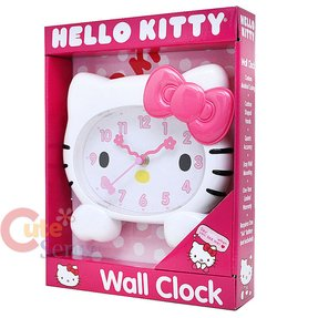 "Hello Kitty 8"" Wall Clock"