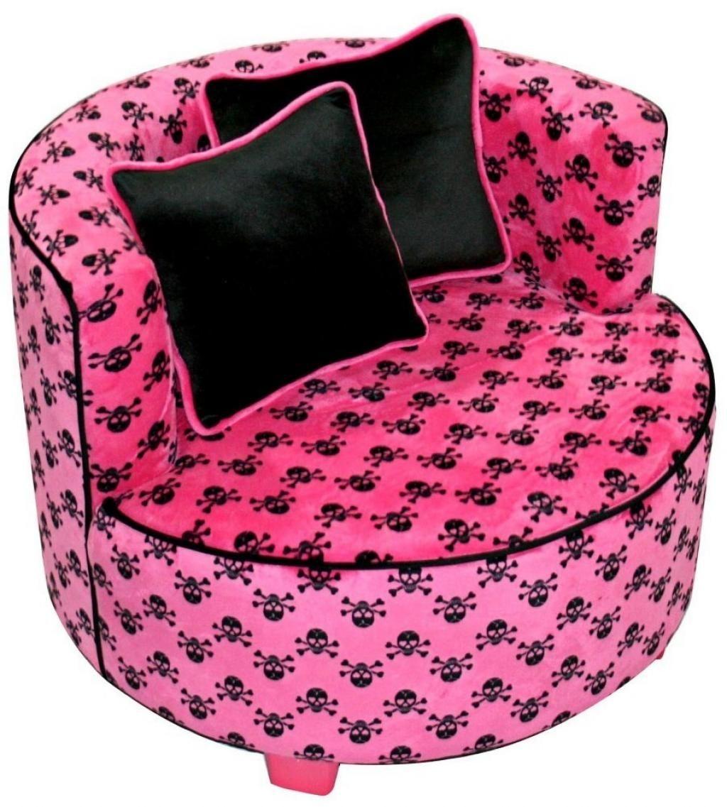 Hot Pink Bean Bag 1