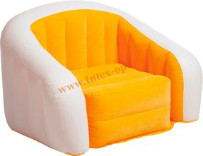 Intex Orange Inflatable Cafe Club Chair