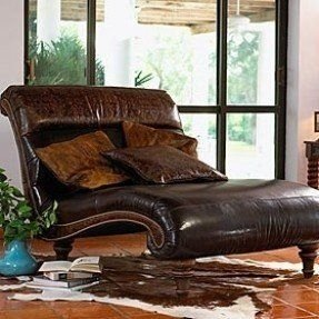 Leather Double Chaise Lounge - Ideas on Foter